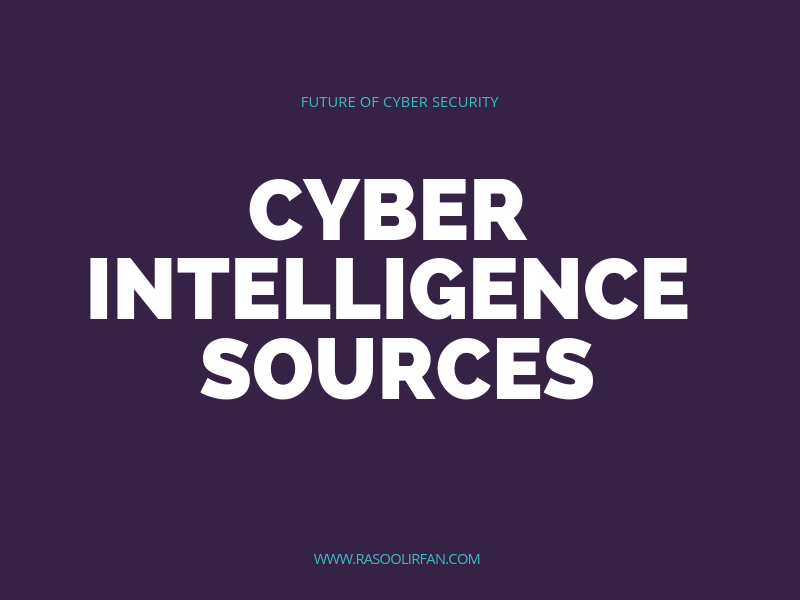 Cyber Threat Intelligence Sources