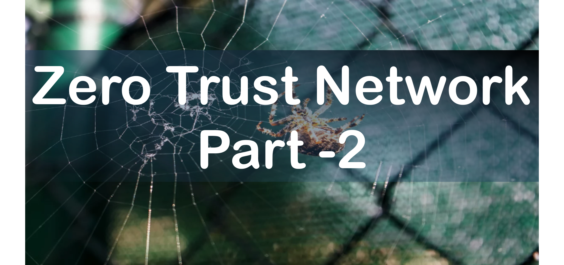 Part 2 :Zero Trust Network Access (ZTNA)